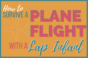 flying with a lap infant