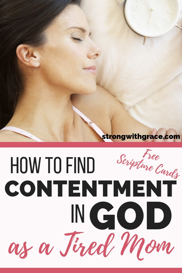 Learning Contentment in God