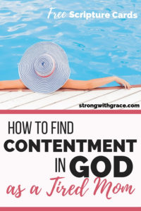 Contentment in God
