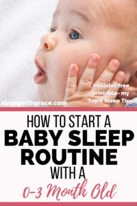 How To Start A 3-Week-Old Baby Sleep Routine
