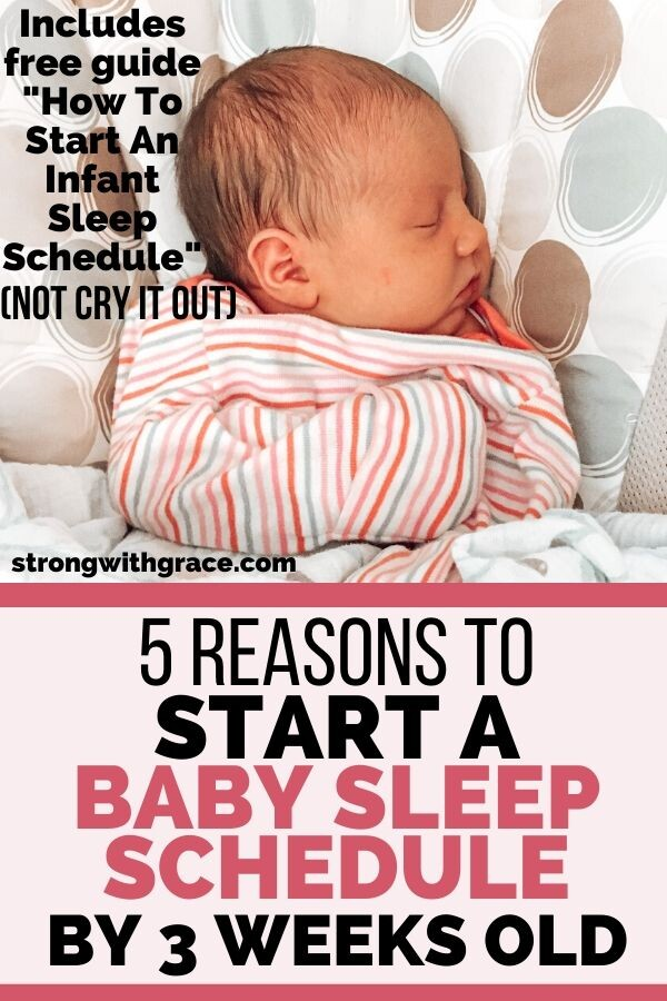 How to start an infant sleep schedule