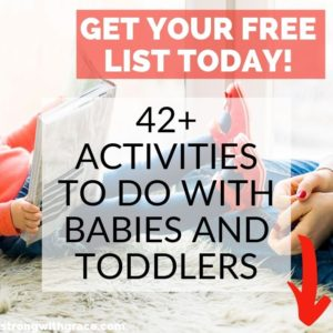 Activities to do with Babies and Toddlers