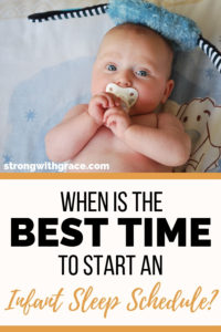 When Is The Best Time To Start An Infant Sleep Schedule?