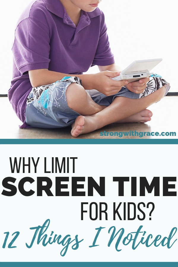 Why Limit Screen Time For Kids?