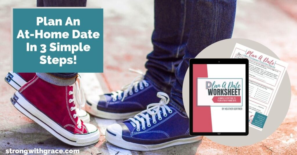 Plan a Date Worksheet | Date Night Ideas