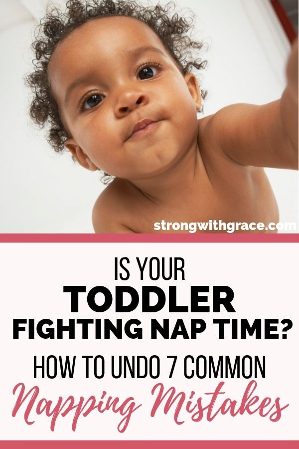 toddler fighting nap