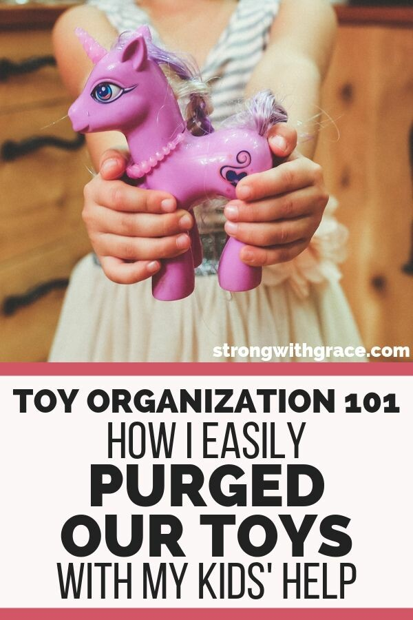 Toy Organization | Purge Toys Easily