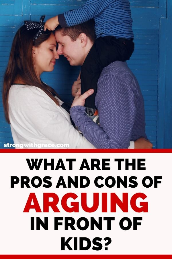 What Are The Pros and Cons of Arguing In Front Of Kids?