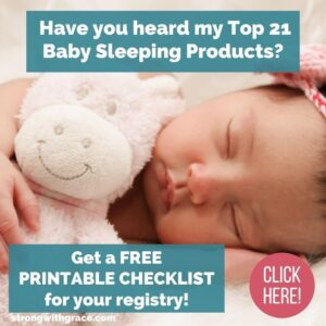 baby sleeping products list