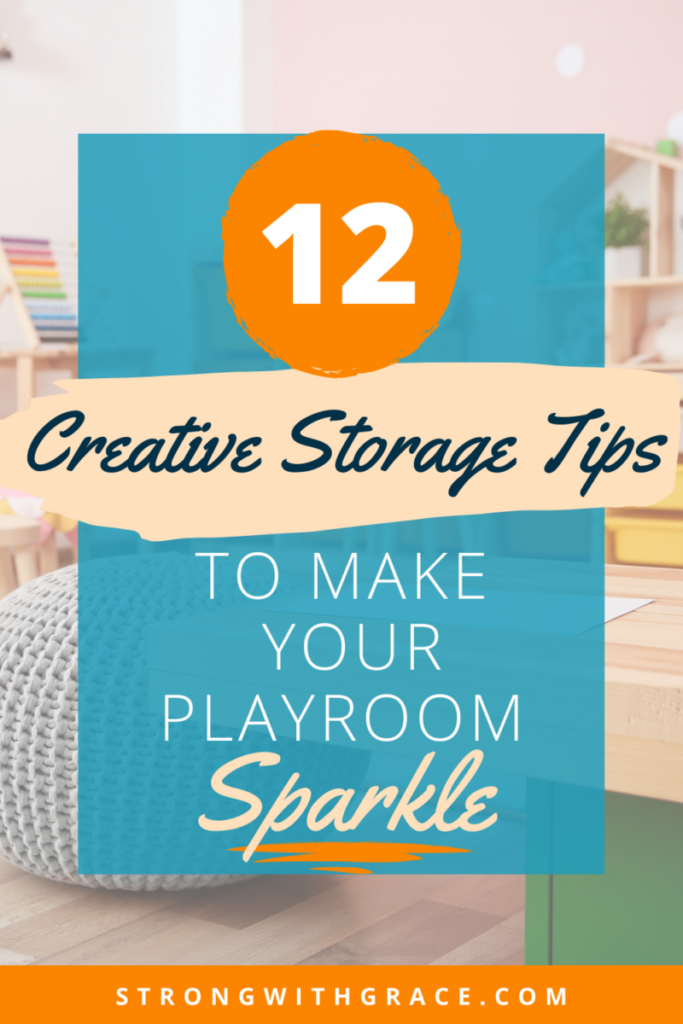 Don't miss these 12 creative storage ideas for a tidy playroom. You can get the whole family involved with these easy tips!