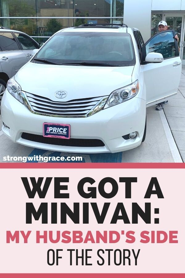 We Got A Minivan: My Husband's Side Of The Story