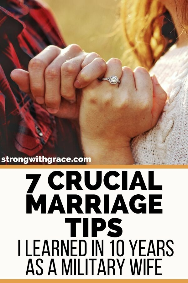 7 Crucial Marriage Tips