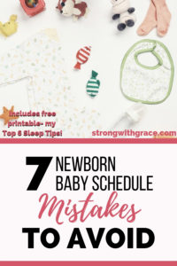 7 Newborn Baby Schedule Mistakes To Avoid