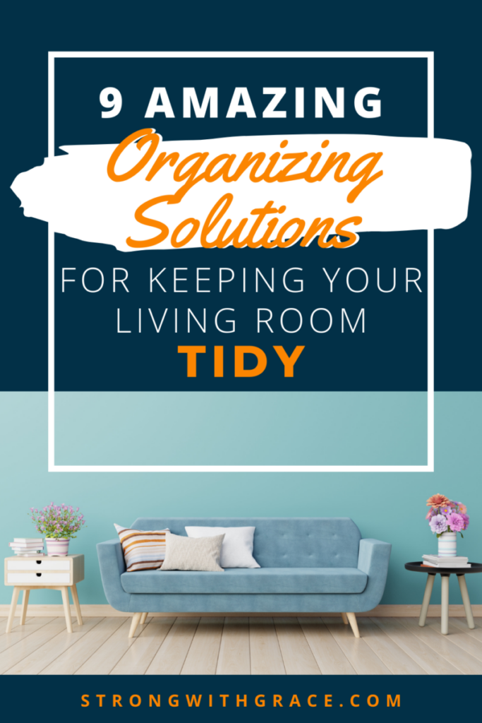 If your living room is constantly a mess and you're not sure where to start, don't miss these 9 organizing solutions to get it tidy fast!