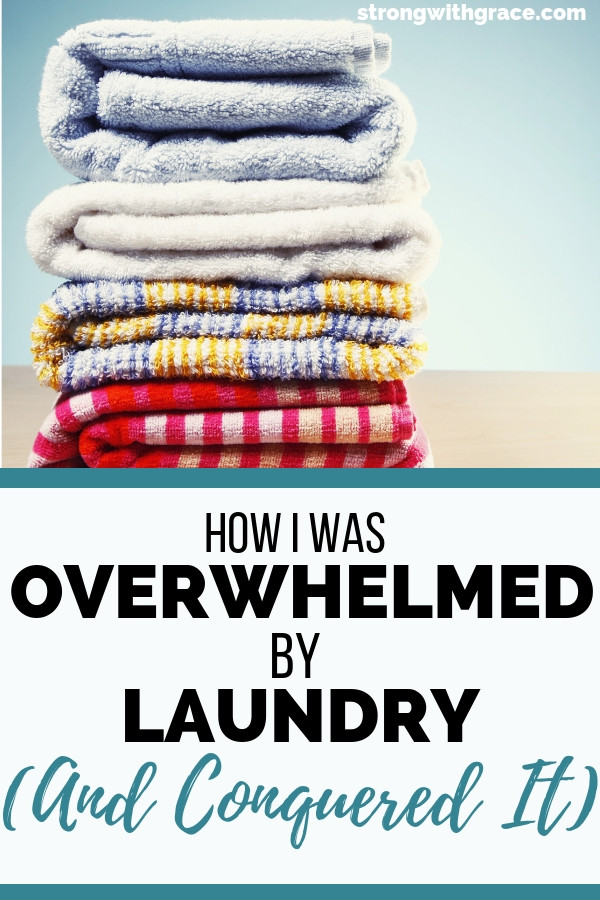 overwhelmed by laundry