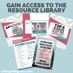 Resource Library for Moms