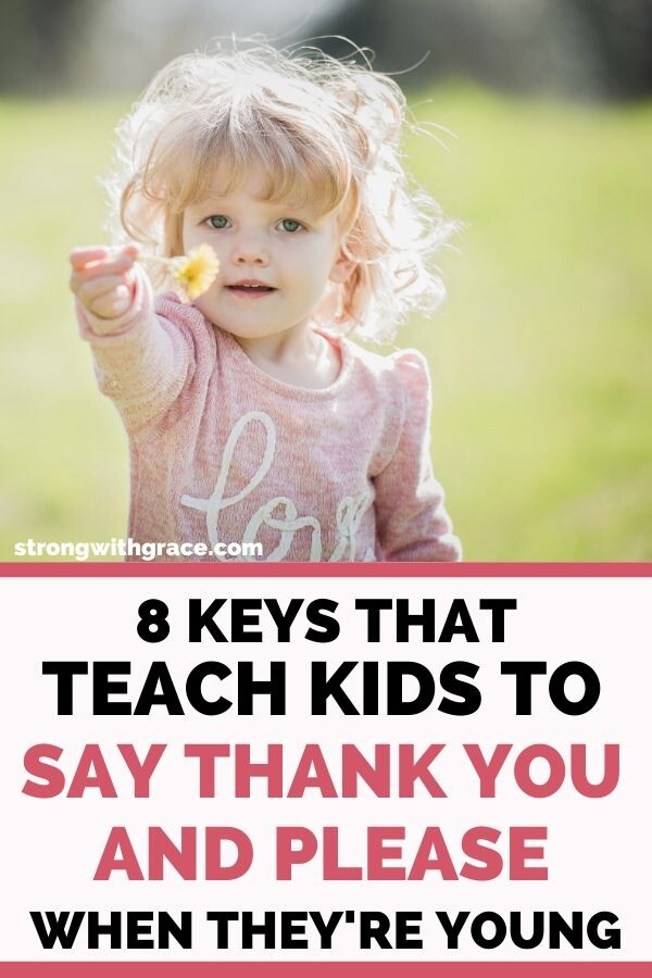 Teach Kids To Say Thank You