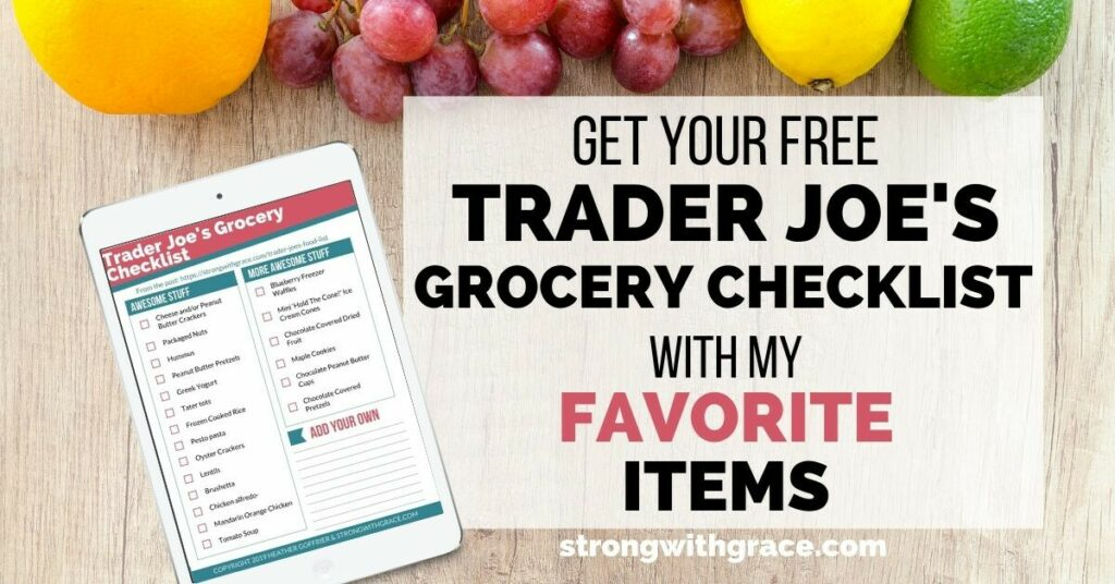 Trader Joe's Food List | Trader Joe's Grocery Checklist