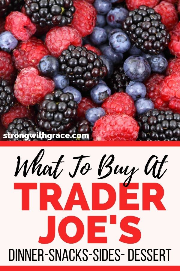 What to buy at trader joes | Trader Joes food list
