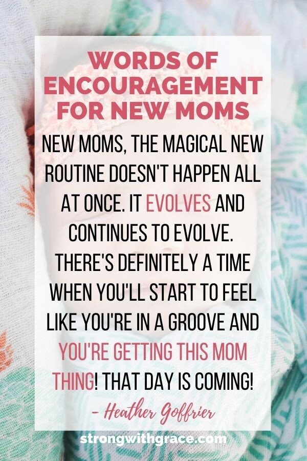 New Mother | Encouragement For New Moms